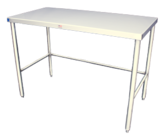 Stainless Steel Top Prep Table